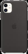 Coque en silicone - noir - iPhone 11