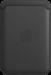 Porte-cartes en cuir avec MagSafe pour iPhone